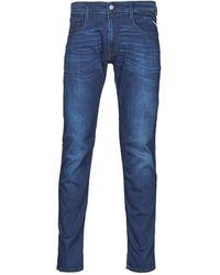 Replay Jeans Slim Anbass Pants - Blu