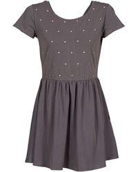 Volcom - Funday Women's Dress In Grey - Lyst