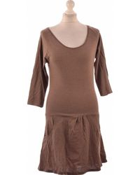 La Redoute Robe Courte 34 - T0 - Xs Robe - Marron