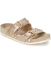 Ash - United Women's Sandals In Gold - Lyst