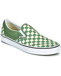Vans CLASSIC SLIP ON - Verde