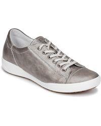 Josef Seibel Lage Sneakers Sina 11 - Metallic