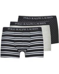 Polo Ralph Lauren Boxers Clssic Trunk-3 Pack-trunk - Zwart