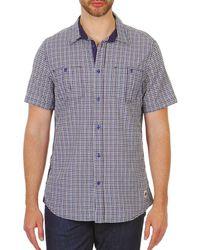 Chevignon - Meryl Men's Short Sleeved Shirt In Blue - Lyst