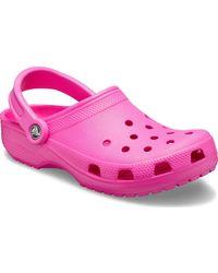 Crocs™ 10001-6qq-m4w6 Classic Boat Shoes - Pink