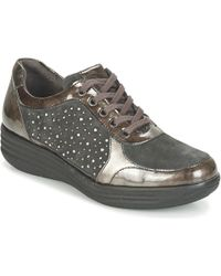 Pitillos - 1942 Women's Shoes (trainers) In Brown - Lyst