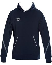Arena Sweater Tl Sweat Hoodie - Blauw