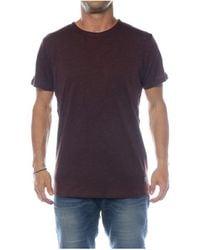 Solid KARRSON T-shirt - Marron