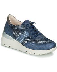 Hispanitas Lage Sneakers Ruth - Blauw
