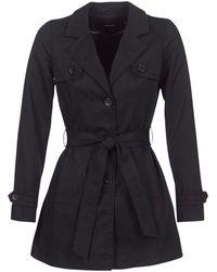 Vero Moda - Vmgo Abby Women's Trench Coat In Black - Lyst