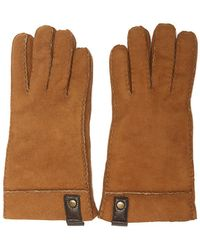 84b3f3ed56f Brown Suede Leather Gloves Men's Gloves In Brown