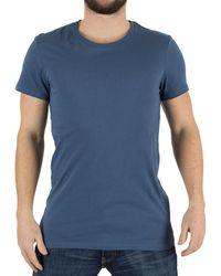J.Lindeberg - Men's Cody Light Plain Jersey T-shirt, Blue Men's T Shirt In Blue - Lyst