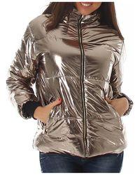 Cendriyon Manteaux Bronze Vêtements Femme Doudounes - Métallisé