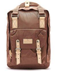 Doughnut Macaroon Chestnut Brown Backpack Backpack