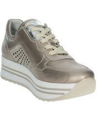 Nero Giardini Lage Sneakers E010563d - Metallic