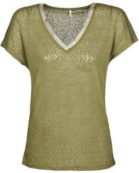 ONLY T-shirt Korte Mouw Onlriley - Groen