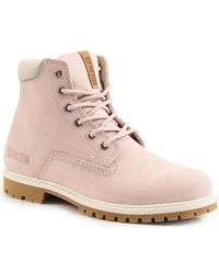 Big Star - Int1035a Women's Low Ankle Boots In Pink - Lyst