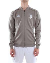 adidas CW8770-JUVE-ZNE-JKT-KN - Bianco