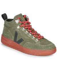 Veja Lage Sneakers Roraima - Groen