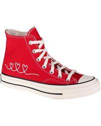 Converse Zapatillas altas Vday Chuck 70 High Top - Rojo