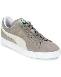 PUMA Lage Sneakers Suede Classic - Grijs