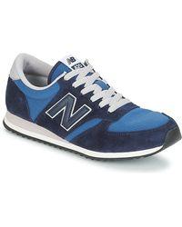 New Balance Lage Sneakers U420 - Blauw