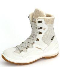 Lowa | Calceta Gtx Ws Creme Ledertextil Men's Snow Boots In Multicolour | Lyst