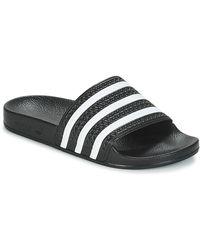 adidas Teenslippers Adilette - Zwart