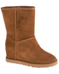 UGG W Classic Femme Short Boots - Marron