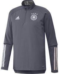 adidas Chaqueta deporte Sweat training Allemagne 2020 - Gris