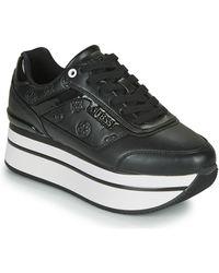 Guess Lage Sneakers Hansin - Zwart