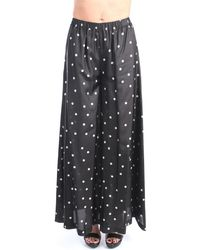 Jucca - J3314027 Culottes Femme Noir Pantalon - Lyst