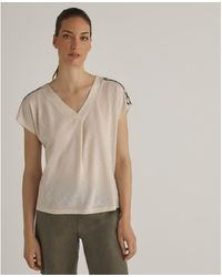 Woman El Corte Inglés 12E65172 T-shirt - Neutre