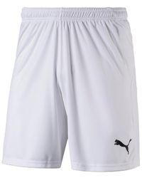PUMA Korte Broek Liga Shorts - Wit