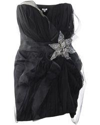 Foley + Corinna Black Embellis Dress