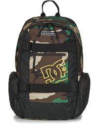 b88c5387f6db DC Shoes - The Breed Men s Backpack In Green - Lyst