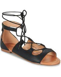 Moony Mood - Gualdime Women's Sandals In Black - Lyst