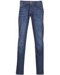 Emporio Armani Skinny Jeans 6g1j06-1d7vz-0943 - Blauw
