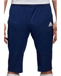 adidas - Condivo 18 3/4 Pant hommes Short en bleu - Lyst