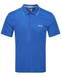 Regatta Polo Maverick V active Shirt Polo Homme - Bleu