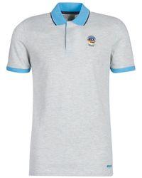 Jack & Jones Polo Shirt Korte Mouw Jorstysta - Grijs