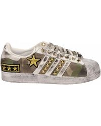 adidas Lage Sneakers Superstar Mility - Wit