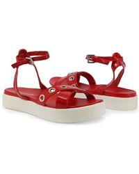 Marina Yachting Sandalias - LIUTEA181W632145 - Rojo