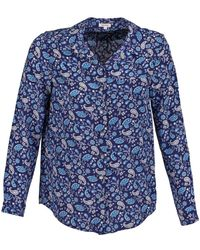 Manoush Overhemd Bandana Silk - Blauw