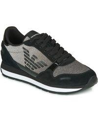 Emporio Armani Lage Sneakers X3x058-xm510 - Zwart