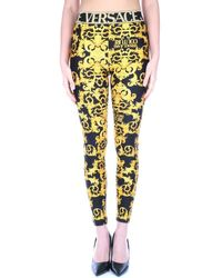 Versace Jeans Couture D5HWA101S0125 leggings Femme Multicolore Collants