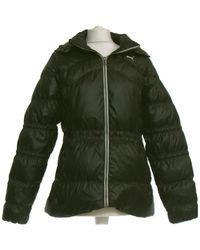 PUMA Manteau Femme 40 - T3 - L Manteau - Noir
