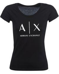 Armani Exchange T-shirt - Noir