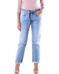 Haikure HEW03214DF065 Jeans boyfriend - Bleu