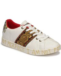 Desigual Lage Sneakers Cosmic_india - Wit
